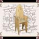Кресло с подножкой