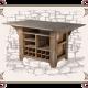 Винный столик лофт