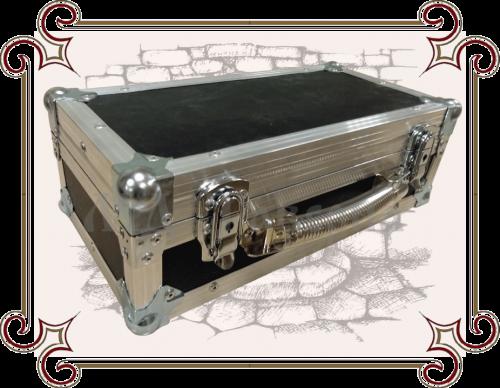Ящик деревянный с металлическими углами