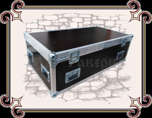 ящик из фанеры с металлическими углами