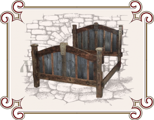 Кровать старорусская