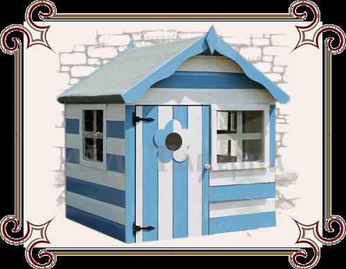 Деревяннный домик для игр