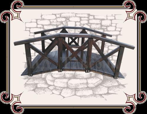 декоративный мост