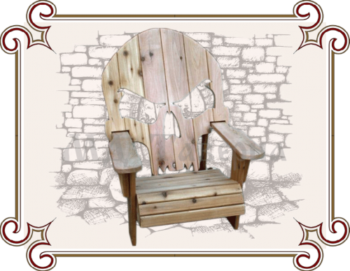Кресло готика