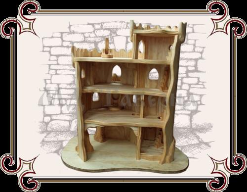 Деревянный дом для кукол