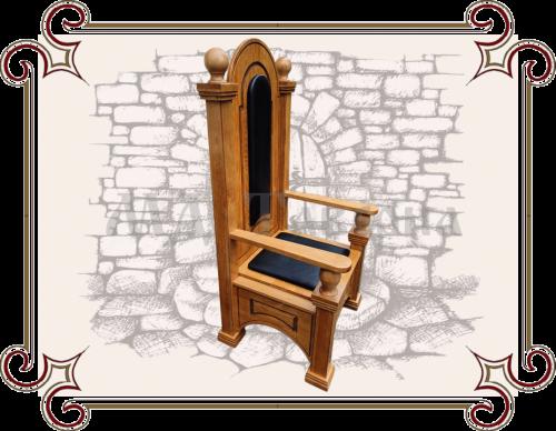 Кресло-трон под старину