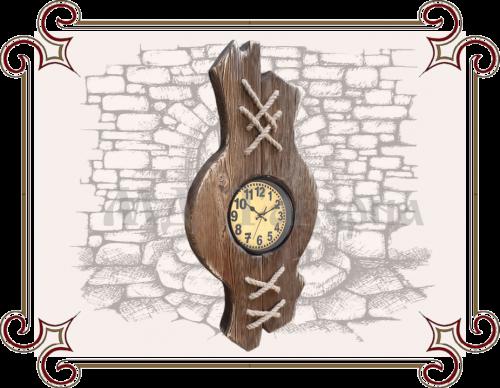 Часы под старину дерево