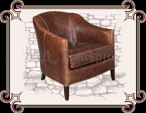 Кресло из экокожи