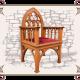 Кресло готическое дерево