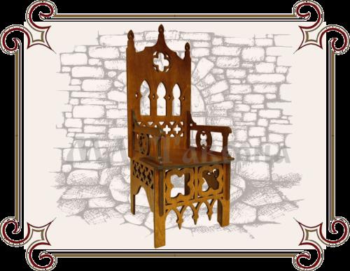 Кресло готика под старину