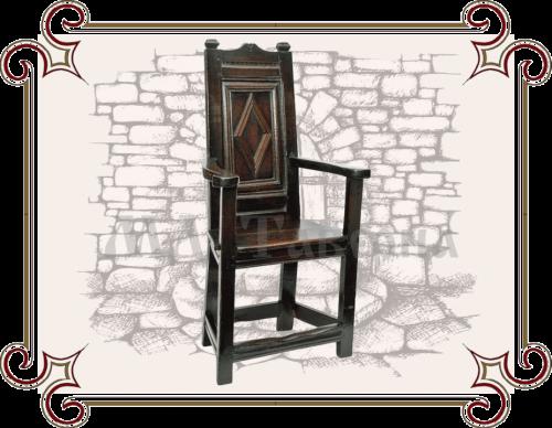 Кресло массив Готика
