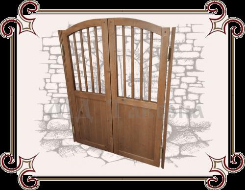 Двухсторонние деревянные двери