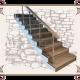 Лестницы, Лестница кантри стиль